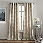 Rutherford 84-Inch Grommet Top Window Curtain Panel in Taupe