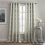 Rutherford 84-Inch Grommet Top Window Curtain Panel in Aqua