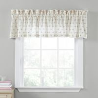 Laura Ashley® Harper Window Valance in Green