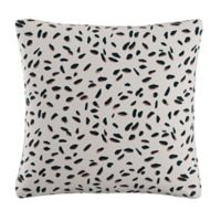 Skyline Square Throw Pillow in Cream/Teal/Pink