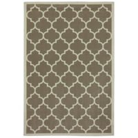 Mohawk Home Living 5-Foot x 7-Foot 6-Inch Melina Rug in Taupe