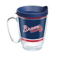TervisR MLB Atlanta Braves Legends 16 Oz Mug With Lid