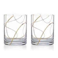 kate spade new york Mulberry Place Double Old Fashioned Glasses (Set of 2)
