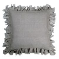 Wamsutta® Vintage Washed Linen European Pillow Sham in Charcoal