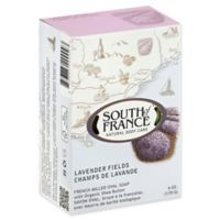 South of France 6 oz. French Milled Oval Bar Soap in Lavender Fields