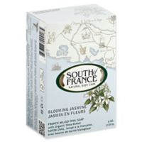 South of France 6 oz. French Milled Oval Bar Soap in Blooming Jasmine