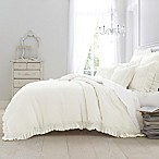 Wamsutta® Vintage Washed Linen Full/Queen Duvet Cover in Winter White