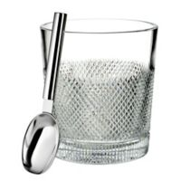 Waterford® Diamond Line Ice Bucket with Scoop