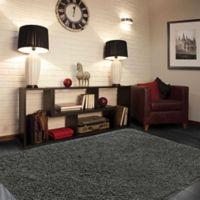 Mohawk® Langtree 5-Foot x 7-Foot Shag Area Rug in Grey