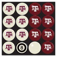 Texas A&M University Home vs. Away Billiard Ball Set