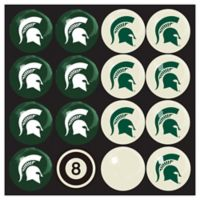 Michigan State University Home vs. Away Billiard Ball Set