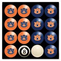 Auburn University Home vs. Away Billiard Ball Set