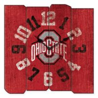 Ohio State University Vintage Square Wall Clock