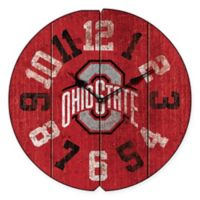 Ohio State University Vintage Round Wall Clock