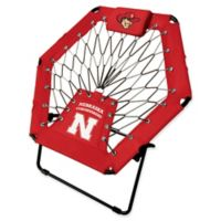University of Nebraska Premium Bungee Chair in Red
