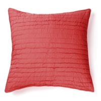 Amity Home Base Camp Square Throw Pillow in Red