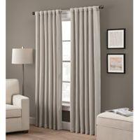 Grayson 63-Inch Rod Pocket/Back Tab Window Curtain Panel in Linen