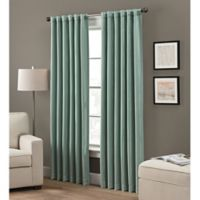 Grayson 95-Inch Rod Pocket/Back Tab Window Curtain Panel in Spruce