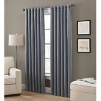 Grayson 95-Inch Rod Pocket/Back Tab Window Curtain Panel in Indigo