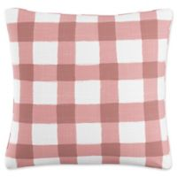 Skyline Furniture Buffalo Square Throw Pillow in Pink
