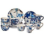 Certified International Indigold 16-Piece Dinnerware Set in Blue