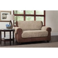 Puff Loveseat Protector in Natural