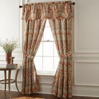 Rose Tree Harrogate 84-Inch Rod Pocket Window Curtain Panel Pair