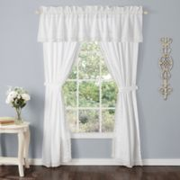 Laura Ashley® Annabella 84-Inch Window Curtain Panel in White