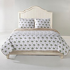 Panama Jack 174 Palm Tree Reversible Quilt Set Bed Bath