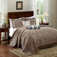 Madison Park Aubrey Queen Bedspread Set in Blue