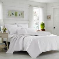 Laura Ashley® Heirloom Full/Queen Quilt Set in White