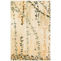 Mohawk Home Trailing Vines Multicolored 5-Foot x 7-Foot Area Rug