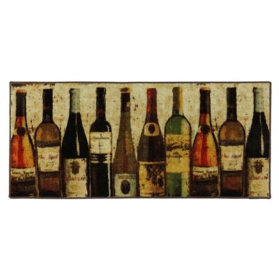 Mohawk Home Wine Row 1 Foot 8 Inch X 3 Foot 9