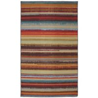 Mohawk Home® Avenue Stripe Indoor/Outdoor 7-Foot 6-Inch x 10-Foot Multicolor Area Rug