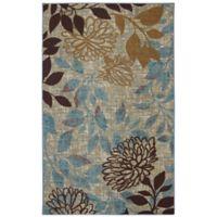 Mohawk Home® Bella Garden Block 5-Foot x 8-Foot Multicolor Area Rug