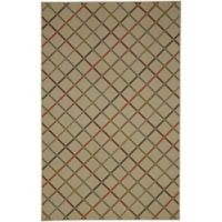 Mohawk Home® Alistair Plaid 5-Foot x 7-Foot Area Rug in Neutral