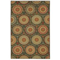 Mohawk Home® Amias Medallion 7-Foot 6-Inch x 10-Foot Area Rug in Grey