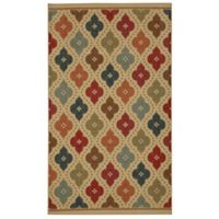 Mohawk Home Jewel Medallion 7-Foot 6-Inch x 10-Foot Multicolor Area Rug