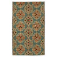 Mohawk Home Kolam 5-Foot x 7-Foot Area Rug in Blue