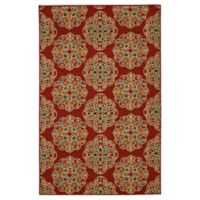 Mohawk Home Kolam 7-Foot 6-Inch x 10-Foot Area Rug in Red