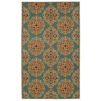 Mohawk Home Kolam 7-Foot 6-Inch x 10-Foot Area Rug in Blue