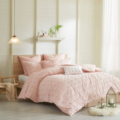 Buy Solid Pink Comforter From Bed Bath Beyond