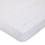 ED Ellen DeGeneres Cotton Tail Love Fitted Crib Sheet in Pink/Peach