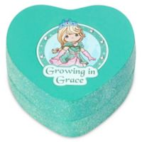 "Precious Moments® Pretty as a Princess Heart-Shaped ""Growing in Grace"" Trinket Box"