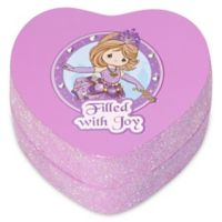 "Precious Moments® Pretty as a Princess Heart-Shaped ""Filled with Joy"" Trinket Box"