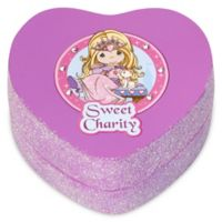 "Precious Moments® Pretty as a Princess Heart-Shaped ""Sweet Charity"" Trinket Box"