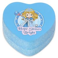 "Precious Moments® Pretty as a Princess Heart-Shaped ""Hope Shines Bright"" Trinket Box"