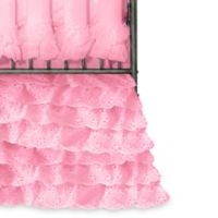 Go Mama Go® Designs Wishes of Windsor Crib Skirt in Pink