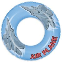 Pool Central Airplane 30-Inch Inner Tube Ring Float in Blue