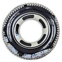 Pool Central Radial Tire 47-Inch Inner Tube Ring Float in Black